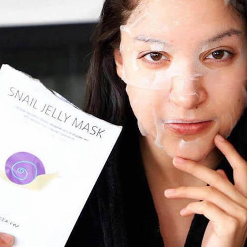 Idee cadeau Snail Secretion Facial Mask