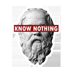 Socrate ne sait rien platiste